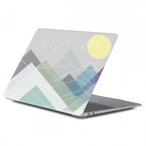 Printing Matte Laptop Protective Case for MacBook Air 11.6 inch A1465 (2012 - 2015) / A1370 (2010 - 2011) (RS-047)