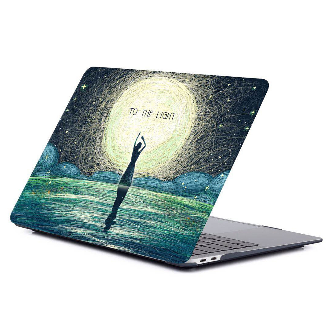 Printing Matte Laptop Protective Case for MacBook Air 11.6 inch A1465 (2012 - 2015) / A1370 (2010 - 2011) (RS-025)