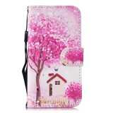 3D Painting Pattern Coloured Drawing Horizontal Flip PU Leather Case with Holder & Card Slots & Wallet For Huawei P20 Lite 2019 / Nova 5i (Tree House)