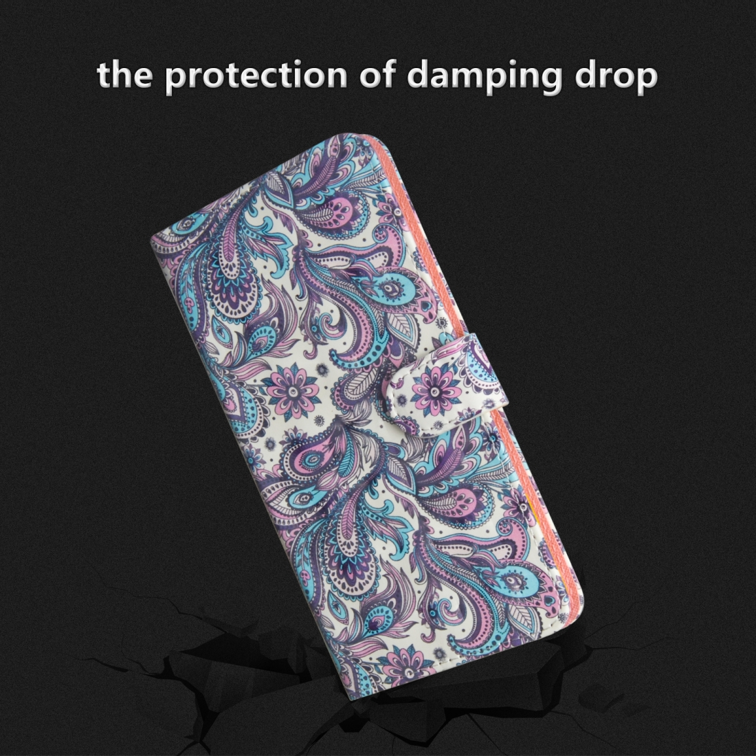 3D Painting Pattern Horizontal Flip TPU + PU Leather Case with Holder & Card Slots & Wallet For Huawei P30 Lite / Nova 4e (Spiral Pattern)