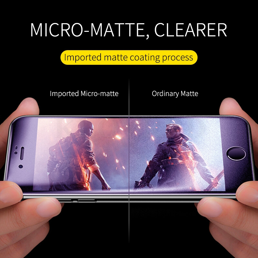 LGYD for 25 PCS AG Matte Frosted Full Cover Tempered Glass for Oppo Realme 3