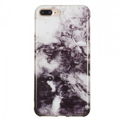 TPU Protective Case For iPhone 8 Plus & 7 Plus (Ink Painting)