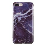 TPU Protective Case For iPhone 8 Plus & 7 Plus (Gray Marble)