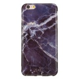 TPU Protective Case For iPhone 6 Plus & 6s Plus (Gray Marble)