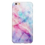 TPU Protective Case For iPhone 6 Plus & 6s Plus (Pink Green Marble)