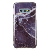 TPU Protective Case For Galaxy S10e (Gray Marble)