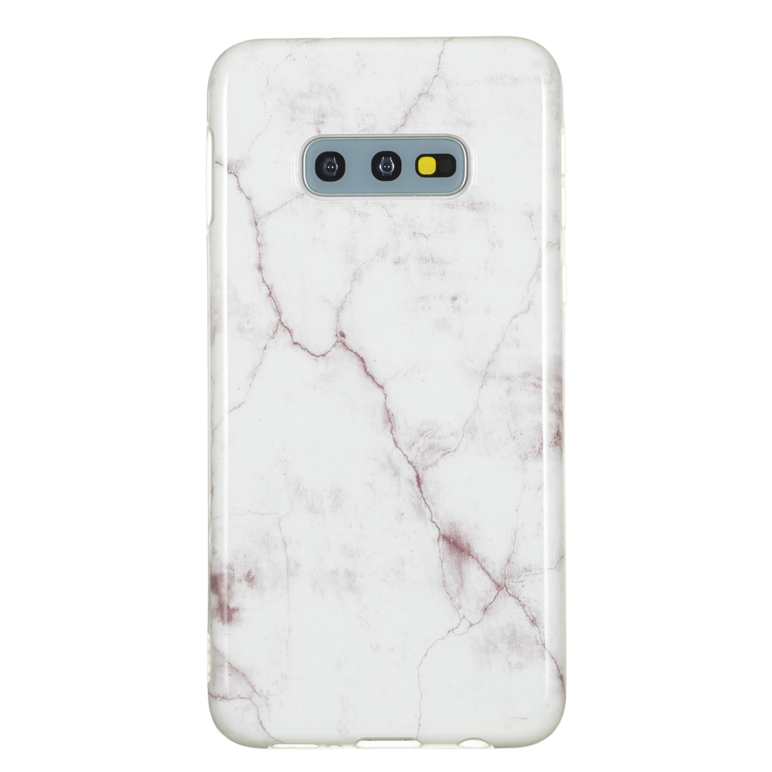 TPU Protective Case For Galaxy S10e (White Marble)