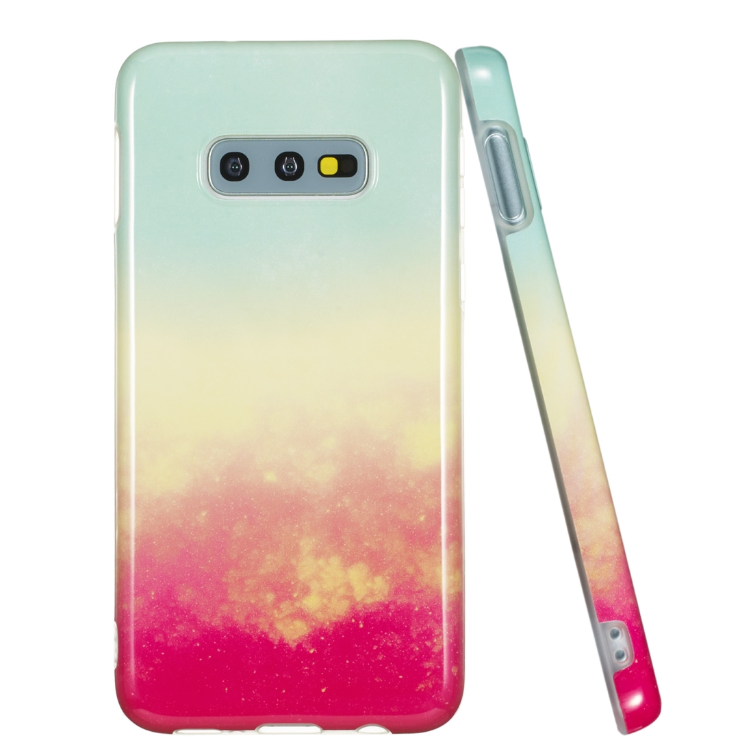 TPU Protective Case For Galaxy S10e (Fire Cloud)