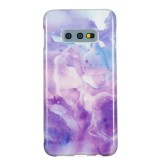 TPU Protective Case For Galaxy S10e (Purple Marble)
