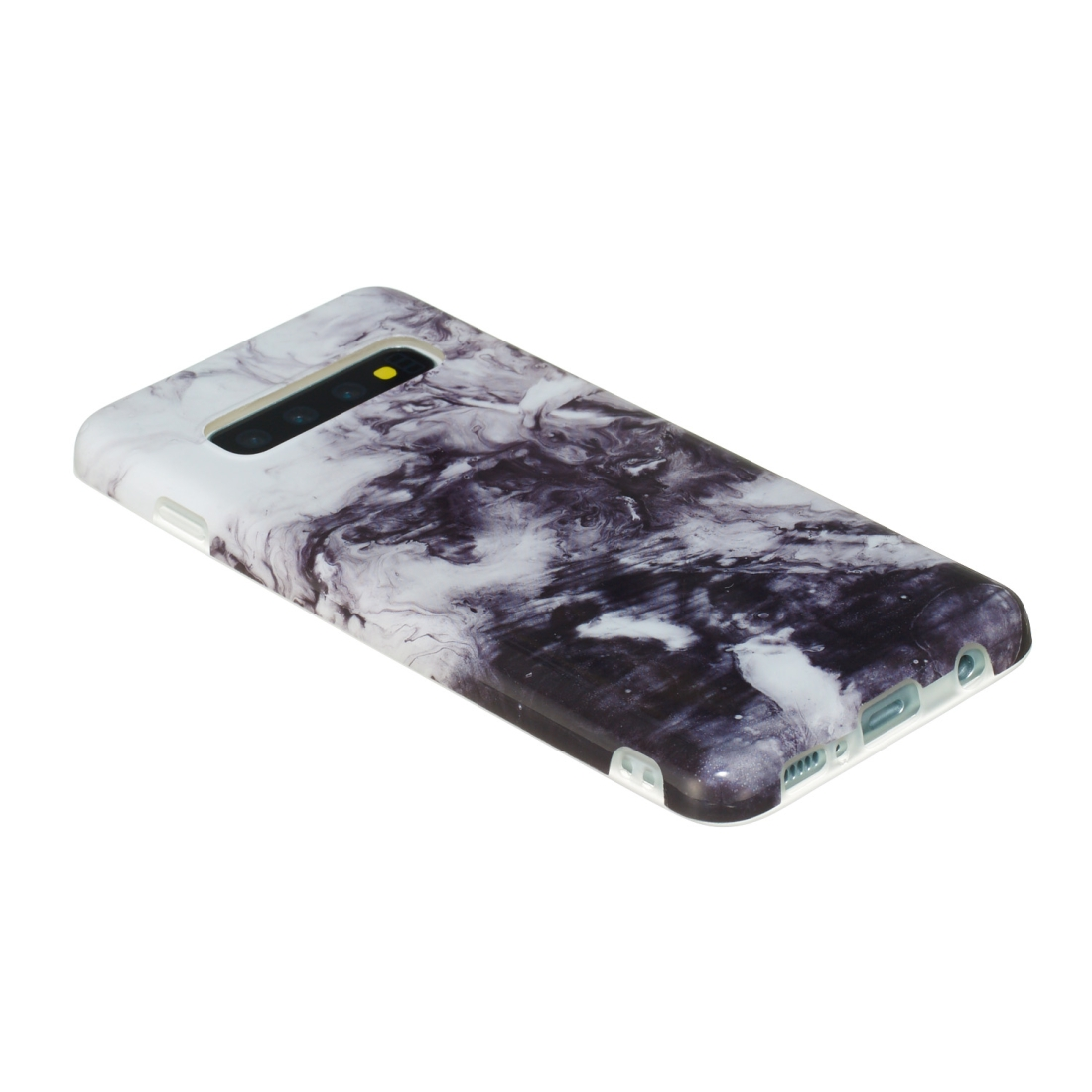 TPU Protective Case For Galaxy S10 (Ink Painting)