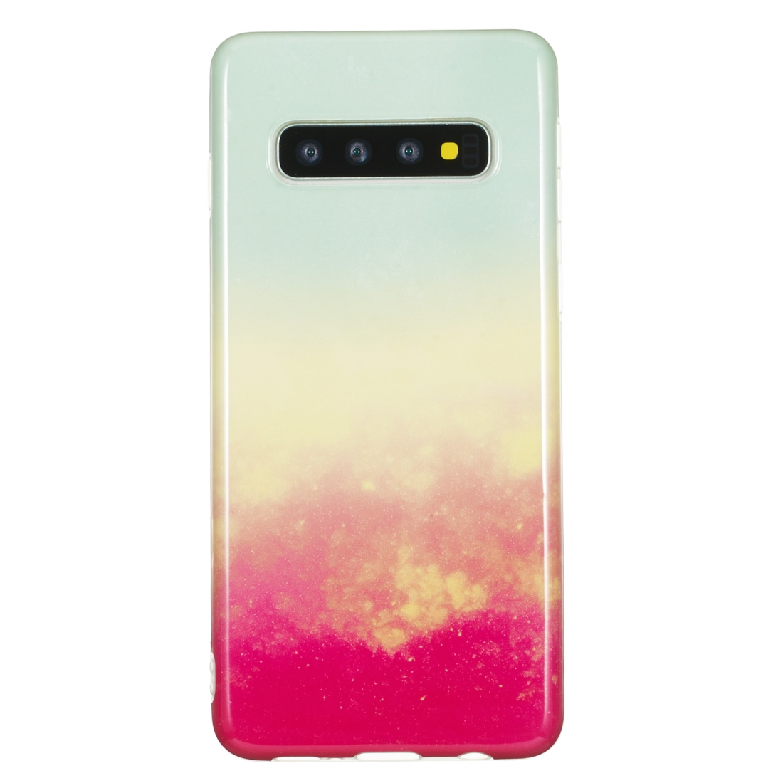 TPU Protective Case For Galaxy S10 (Fire Cloud)