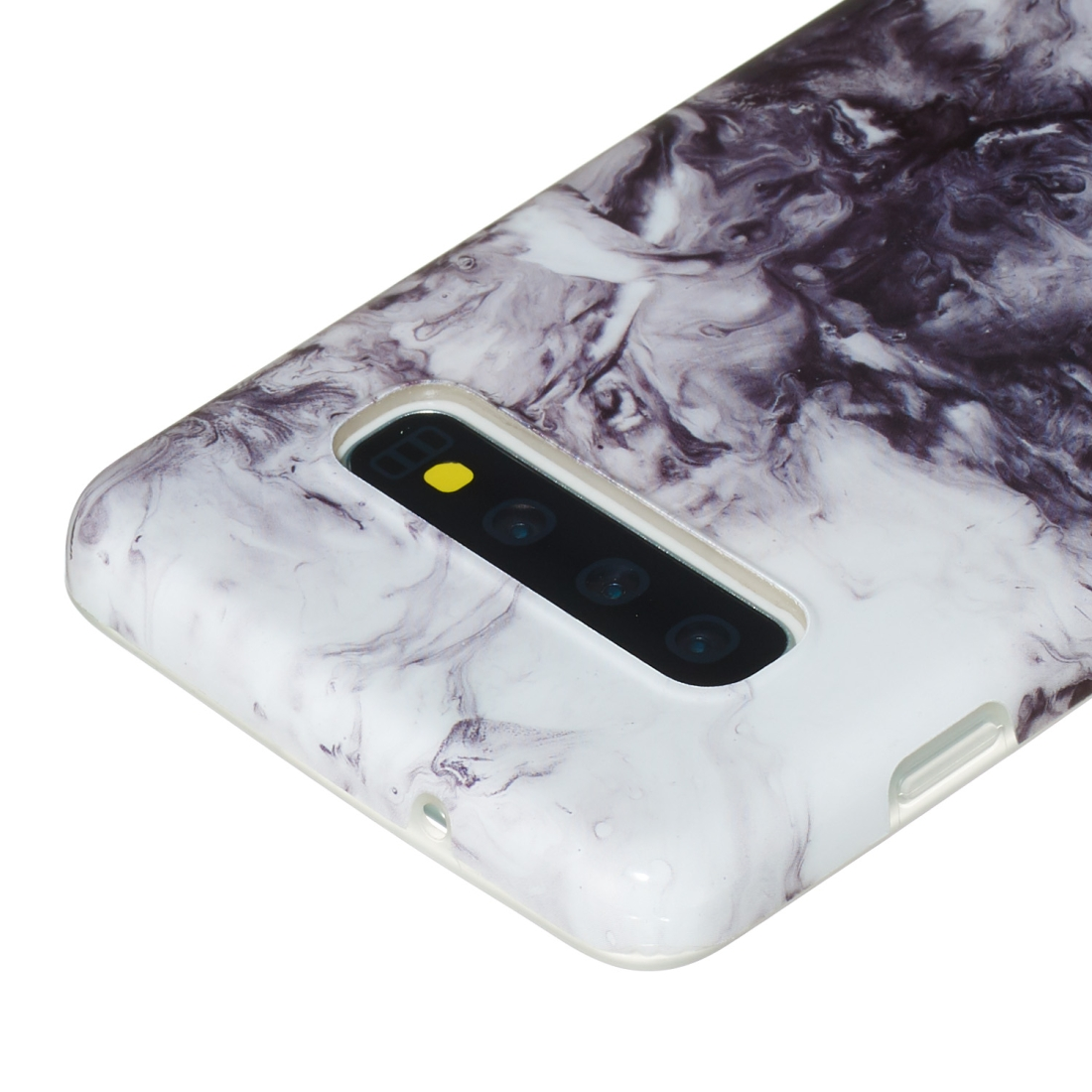 TPU Protective Case For Galaxy S10 Plus (Ink Painting)