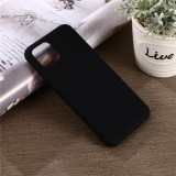 Solid Color Liquid Silicone Shockproof Full Coverage Case for Google Pixel 4XL (Black)