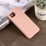 Solid Color Liquid Silicone Shockproof Full Coverage Case for Google Pixel 4XL (Pink)