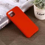 Solid Color Liquid Silicone Shockproof Full Coverage Case for Google Pixel 4XL (Red)