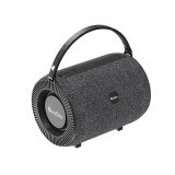 Oneder V3 Outdoor Hand-held Wireless Bluetooth Speaker, Support Hands-free & FM & TF Card & AUX & USB Drive (Black)