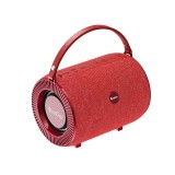 Oneder V3 Outdoor Hand-held Wireless Bluetooth Speaker, Support Hands-free & FM & TF Card & AUX & USB Drive (Red)