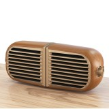 Oneder V8 Magnetic Suction Pair Stereo Sound Box Wireless Bluetooth Speaker with Strap, Support Hands-free & TF Card & AUX & USB Drive (Champagne Gold)