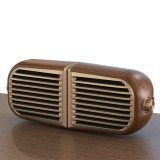 Oneder V8 Magnetic Suction Pair Stereo Sound Box Wireless Bluetooth Speaker with Strap, Support Hands-free & TF Card & AUX & USB Drive (Bronze)
