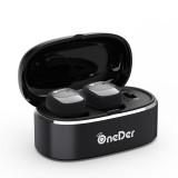 Oneder W11 True TWS Wireless Bluetooth Earphones Earbuds Stereo Headset (Black)