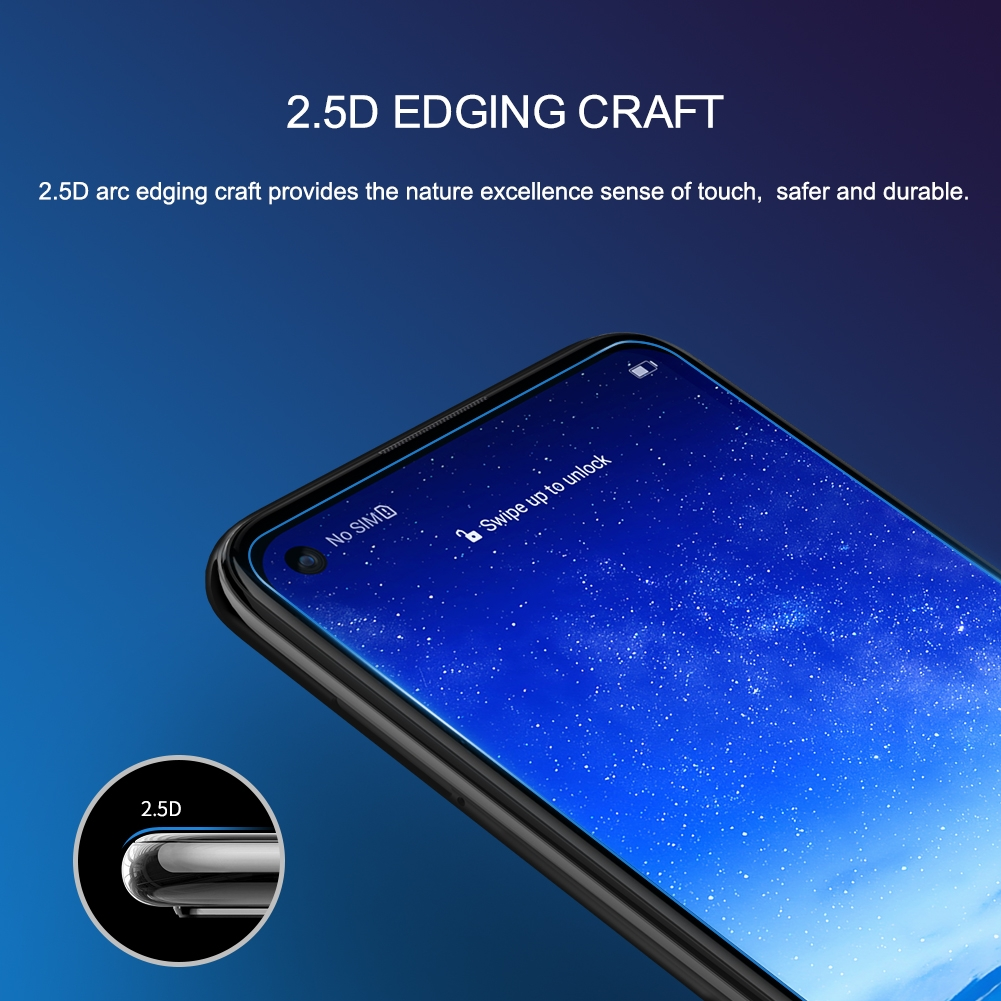NILLKIN H+Pro Anti-Explosion 0.2mm 9H Surface Hardness 2.5D Curved Edge Tempered Glass Front Screen Protector for Huawei Nova 5i Pro