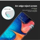 MOFI 9H 3D Explosion-proof Curved Screen Tempered Glass Film for Galaxy A40 (Black)
