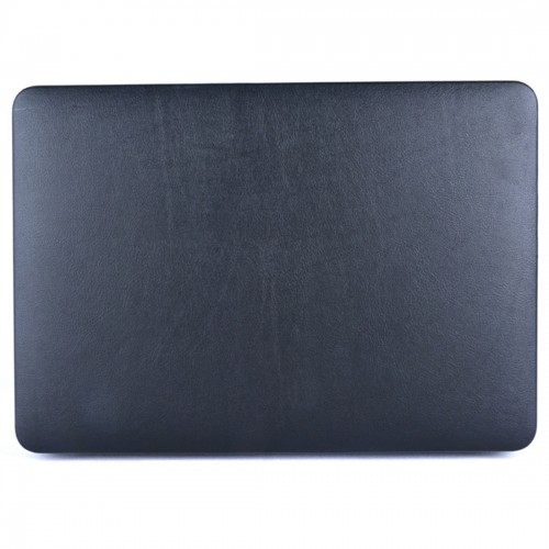 Laptop PU Leather Paste Case for MacBook Air 11.6 inch A1465 (2012 - 2015) / A1370 (2010 - 2011) (Black)