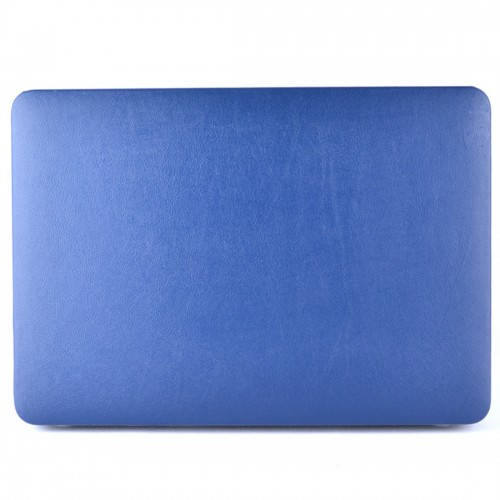 Laptop PU Leather Paste Case for MacBook Air 11.6 inch A1465 (2012 - 2015) / A1370 (2010 - 2011) (Dark Blue)