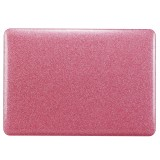 Glittery Powder Laptop PU Leather Paste Case for MacBook Air 11.6 inch A1465 (2012 – 2015) / A1370 (2010 – 2011) (Pink)