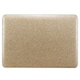 Glittery Powder Laptop PU Leather Paste Case for MacBook Air 11.6 inch A1465 (2012 – 2015) / A1370 (2010 – 2011) (Gold)