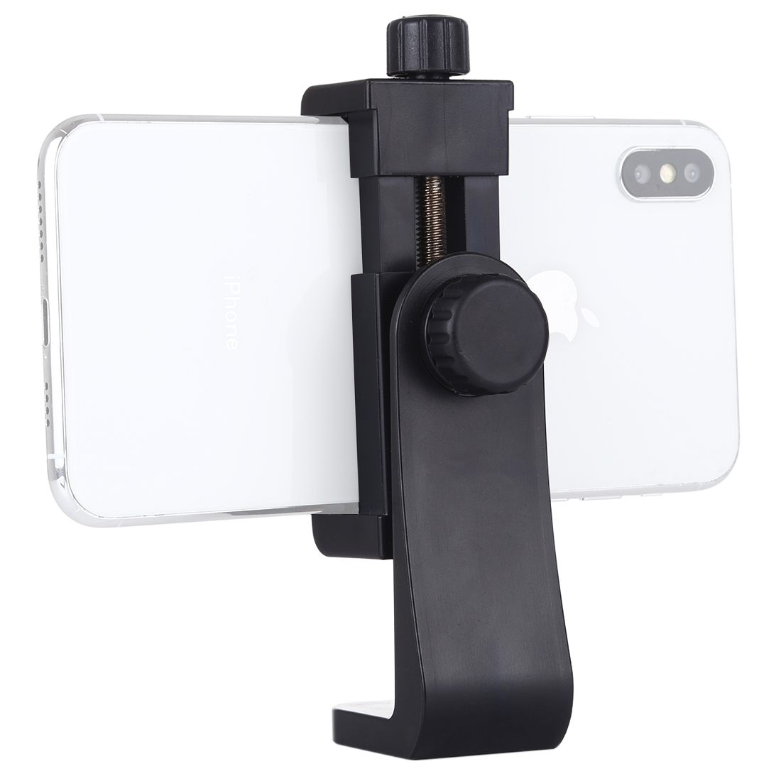 PULUZ 360 Degree Rotating Universal Horizontal Vertical Shooting Phone Clamp Holder Bracket for iPhone, Galaxy, Huawei, Xiaomi, Sony, HTC, Google and other Smartphones