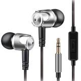 QKZ DM4 In-ear Sports Music Headphones, Microphone Version (Grey)
