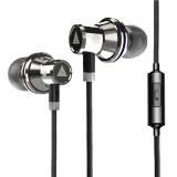 QKZ KD3 In-Ear Subwoofer Metal Sports Music Headphones, Microphone Version