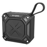 W-King S6 Portable Bluetooth Speaker Waterproof Wireless Music Speaker Radio Box Anti-drop Outdoor Bicycle TF card Loudspeakers (black)