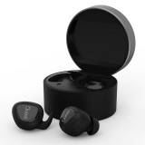Duosi DY-18 True Wireless Stereo Earphone Realteck 5.0 Bluetooth Chipset 450mah Charging Box TWS Earbuds (Black)