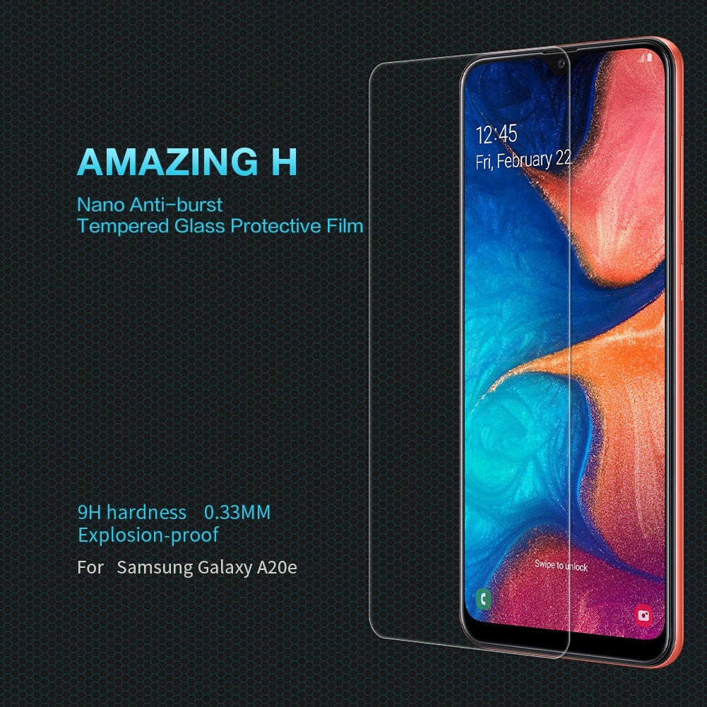 NILLKIN H Explosion-proof Tempered Glass Film for Galaxy A20e