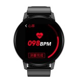 S01 1.22 inch IPS Display Color Screen Smart Bracelet IP67 Waterproof, Support Call Reminder/ Heart Rate Monitoring / Blood Pressure Monitoring/ Sleep Monitoring/Blood Oxygen Monitoring (Black)