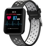 S88 1.54 inches TFT Color Screen Smart Bracelet IP67 Waterproof, Silicone Watchband, Support Call Reminder / Heart Rate Monitoring /Sleep Monitoring /Sedentary Reminder /Blood Pressure Monitoring (Grey)