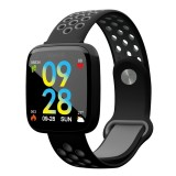 F15 1.3 inch TFT IPS Color Screen Smart Bracelet, Support Call Reminder/ Heart Rate Monitoring / Blood Pressure Monitoring/ Sleep Monitoring/Blood Oxygen Monitoring (Black)