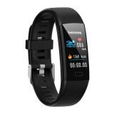 Y10 0.96 inch TFT Color Screen IP67 Waterproof Smart Bracelet, Support Call Reminder/ Heart Rate Monitoring / Blood Pressure Monitoring/ Sleep Monitoring/Blood Oxygen Monitoring (Black)