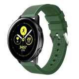 Smart Watch Silicone Wrist Strap Watchband for Garmin Vivoactive 3 (Army Green)