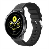 Smart Watch Silicone Wrist Strap Watchband for Garmin Vivoactive 3 (Black)