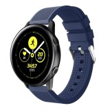 Smart Watch Silicone Wrist Strap Watchband for Garmin Vivoactive 3 (Dark Blue)