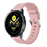 Smart Watch Silicone Wrist Strap Watchband for Garmin Vivoactive 3 (Pink)