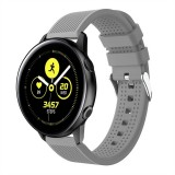 Smart Watch Silicone Wrist Strap Watchband for Garmin Vivoactive 3 (Grey)