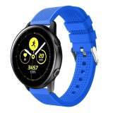 Smart Watch Silicone Wrist Strap Watchband for Garmin Vivoactive 3 (Blue)