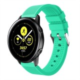 Smart Watch Silicone Wrist Strap Watchband for Garmin Vivoactive 3 (Mint Green)
