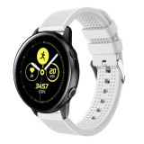 Smart Watch Silicone Wrist Strap Watchband for Garmin Vivoactive 3 (White)