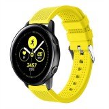 Smart Watch Silicone Wrist Strap Watchband for Garmin Vivoactive 3 (Yellow)