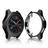 TPU Plated Shockproof Case for Samsung Gear S3 Frontier Smartwatch 42mm (Black)